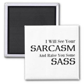 Jag ska ser din Sarcasm och lönelyft dig någon Magnet