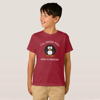 Jag ska Show dig hur till den roliga T-tröja för T-shirt