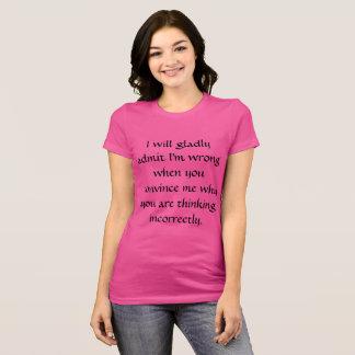 Jag ska SKA MEDGER - KVINNOR Tee Shirt