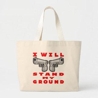 Jag ska stativ min slipade Auto pistoler Jumbo Tygkasse