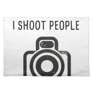 Jag skjuter folk - kamera bordstablett