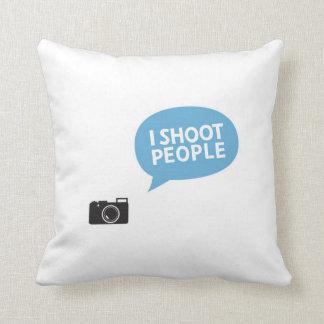 Jag skjuter folk, kärlek, porträtt somfotografi kudde