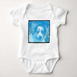 Jag skulle är ganska blått t-shirts