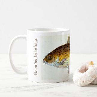 Jag skulle är ganska carpfiskemuggen kaffemugg