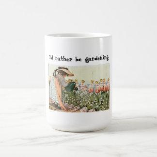 Jag skulle är ganska den trädgårdarbeteaste muggen kaffemugg