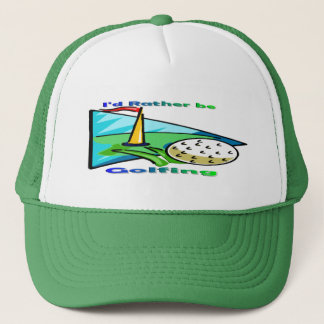 Jag skulle är ganska golfspelet keps