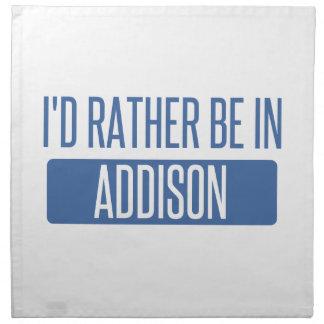 Jag skulle är ganska i Addison Tygservett