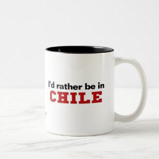 Jag skulle är ganska i Chile Två-Tonad Mugg