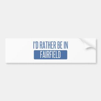 Jag skulle är ganska i Fairfield OH Bildekal