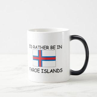 Jag skulle är ganska i Faroe Island Magisk Mugg