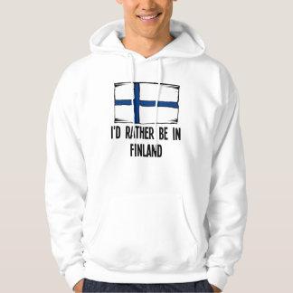 Jag skulle är ganska i Finland Sweatshirt