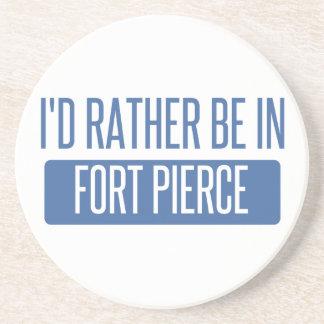 Jag skulle är ganska i Fort Pierce Underlägg Sandsten