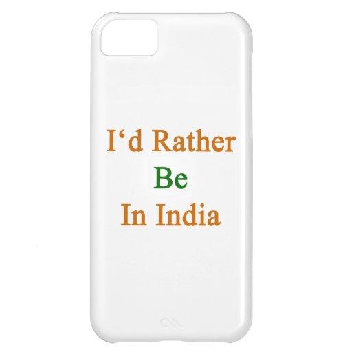 Jag skulle är ganska i Indien iPhone 5C Fodral