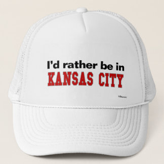 Jag skulle är ganska i Kansas City Truckerkeps