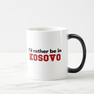Jag skulle är ganska i Kosovo Magisk Mugg