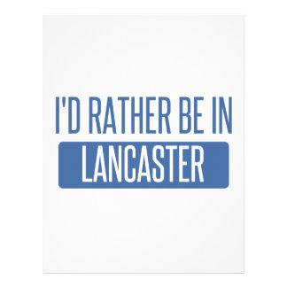 Jag skulle är ganska i Lancaster OH Brevhuvud