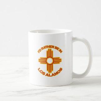 Jag skulle är ganska i Los Alamos Kaffemugg