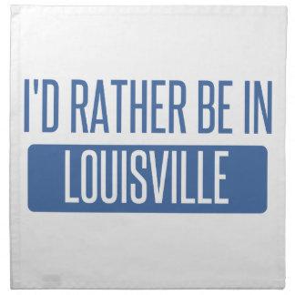 Jag skulle är ganska i Louisville Tygservett