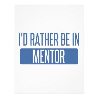 Jag skulle är ganska i mentor brevhuvud