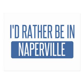 Jag skulle är ganska i Naperville Vykort