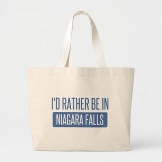 Jag skulle är ganska i Niagara Falls Jumbo Tygkasse
