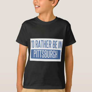 Jag skulle är ganska i Pittsburgh Tee Shirts