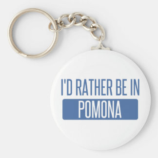 Jag skulle är ganska i Pomona Rund Nyckelring