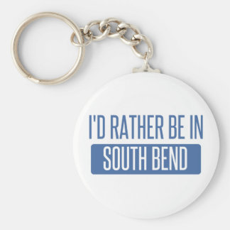 Jag skulle är ganska i South Bend Rund Nyckelring