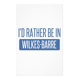 Jag skulle är ganska i Wilkes-Barre Brevpapper
