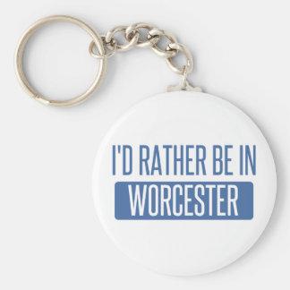 Jag skulle är ganska i Worcester Rund Nyckelring