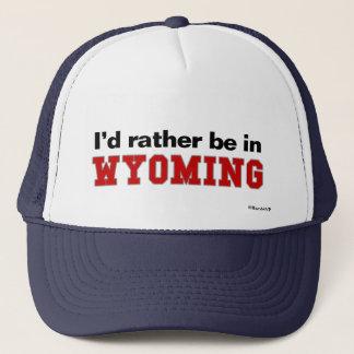 Jag skulle är ganska i Wyoming Keps
