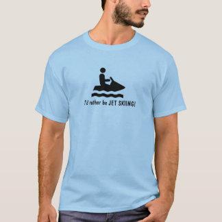 Jag skulle är ganska JETSKIDÅKNINGEN! T-tröja T-shirts