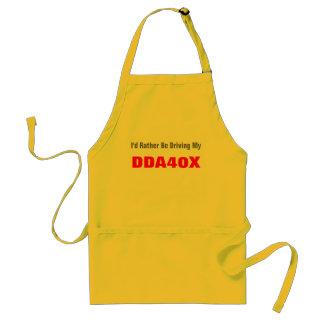 Jag skulle är ganska min körning, DDA40X Förkläde