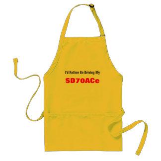 Jag skulle är ganska min körning, SD70ACe Förkläde