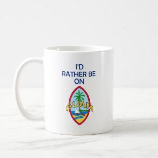Jag skulle är ganska på Guam Kaffemugg