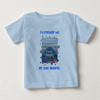Jag skulle är ganska på kustsmåbarnt-skjortan tröja