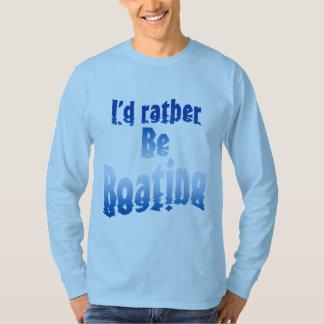 Jag skulle är ganska rodden tee shirt