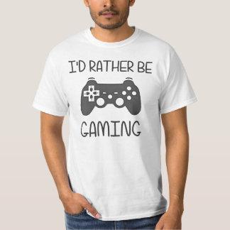 Jag skulle är ganska video dobbel tee shirt