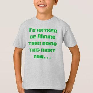 Jag skulle bryter ganska tee shirt
