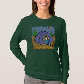 Jag skulle campar ganska - campa platsT-tröja Tee