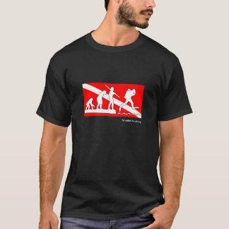 Jag skulle dyker ganska, SCUBAevolutiont-shirt.en T Shirt