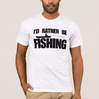 Jag skulle fiskar ganska t shirts