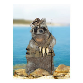 Jag skulle fiskar ganska vykort