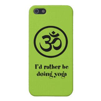 Jag skulle gör ganska Yoga iPhone 5 Cover