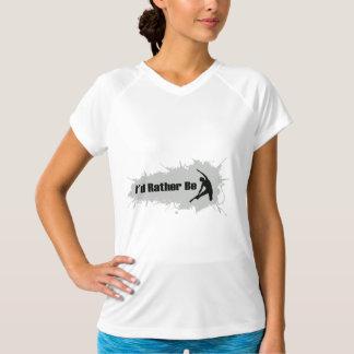 Jag skulle gör ganska Yoga Tee Shirt