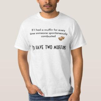 Jag skulle har två muffiner tee shirt