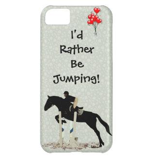 Jag skulle hoppar ganska! Häst iPhone 5C Skal
