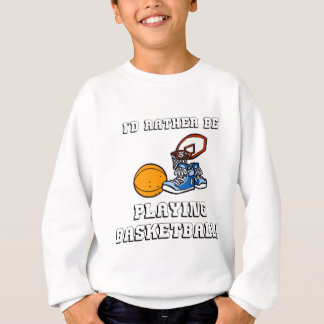 Jag skulle leker ganska basket! t-shirt