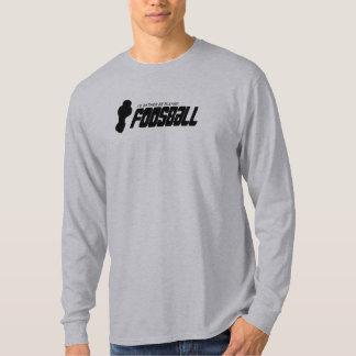 Jag skulle leker ganska Foosball (mörk) T-shirt