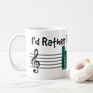 Jag skulle leker ganska min harpa kaffemugg
